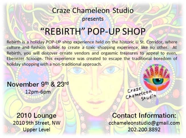 REBIRTH....A POP-UP SHOP